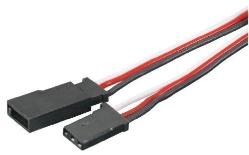 Tactic 12 Servo Extension with Futaba J Connectors 300mm Model TACM2093