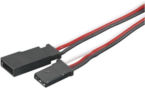 Tactic 24 Servo Extension with Futaba J Connectors 600mm