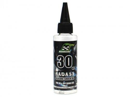 Boom Racing BRSHK030 BADASS Silicone Shock Oil 30wt 60ml