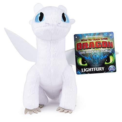 Dreamworks Dragons Lightfury 8 Premium Plush Dragon for Kids Aged 4 Up