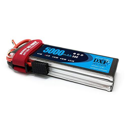 DXF 5000mAh 111V 50C 3S lipo Battery with TRX Plug for Truck Rc Cars Buggy RC Truggy RC Airplane UAV Drone FPV RC Hobby 1PCS 111V 5000mah 3S TRX