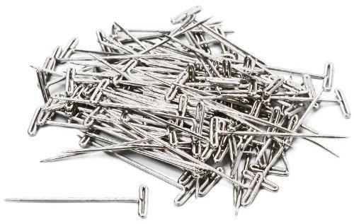 Hobbico 1-14 Steel T-Pins 100-Piece