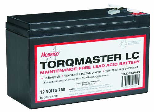 Hobbico Torqmaster LC 12V7A Battery