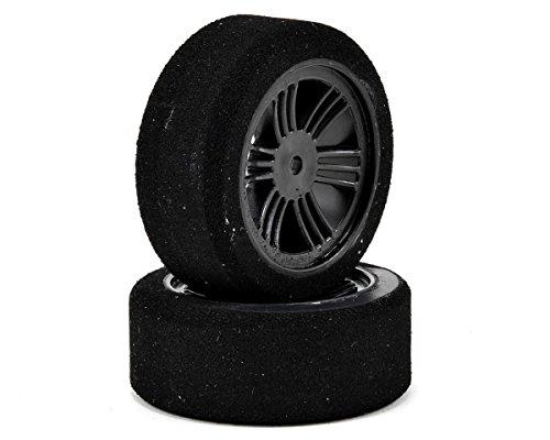 Contact RC 110 Electric Sedan Dual Foam Tires 2 Carbon Black Soft