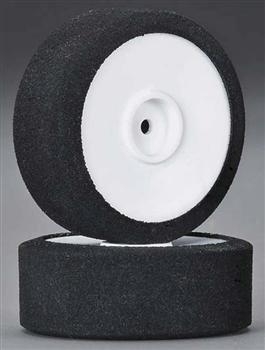DuraTrax 30 Shore Foam Tire Mtd White Wheel Vendetta TC 2