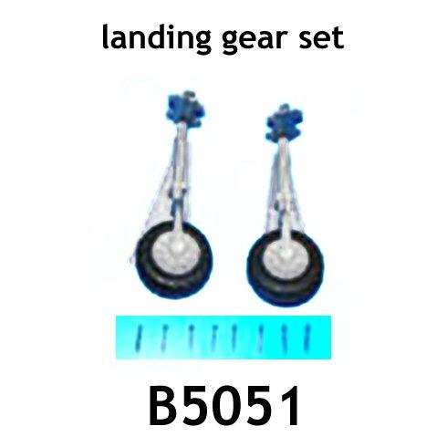 Redcat Racing AT-B5051 main landing geartail landing gear& wheels