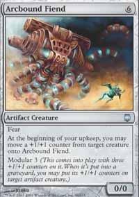 Magic the Gathering - Arcbound Fiend - Darksteel
