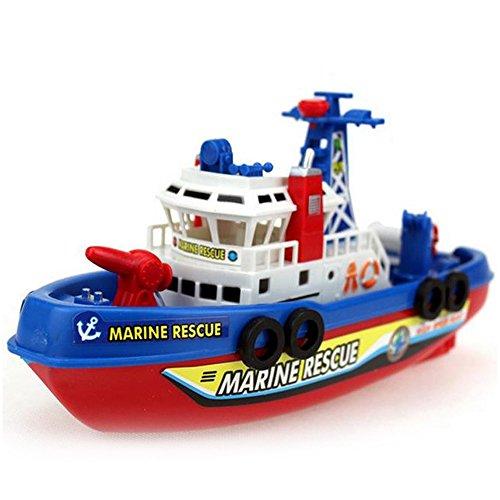 Toys Bath Sprinkler Automatic pump atomizer bathtub floating warship childrens toy