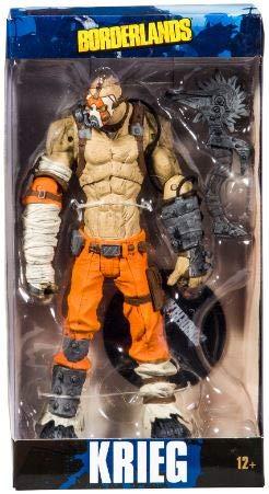 McFarlane Toys Borderlands Krieg Collectible Action Figure