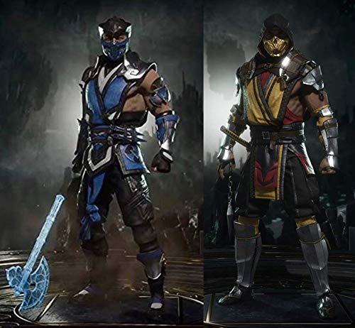 McFarlane Toys Mortal Kombat XI Scorpion and Sub-Zero 7 Inch Action Figure Set