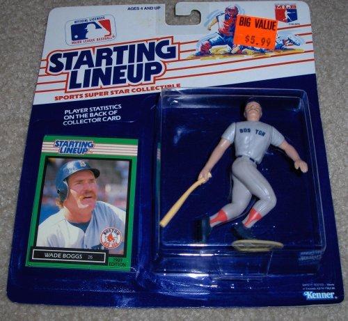 1989 Wade Boggs MLB Starting Lineup Figure