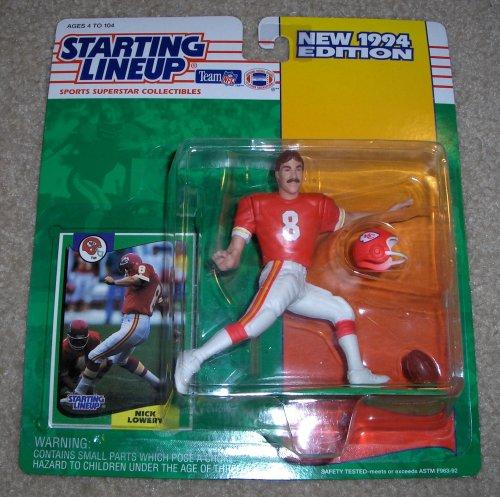 1994 Nick Lowery NFL Starting Lineup Figure