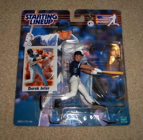 2000 Derek Jeter MLB Starting Lineup Figure