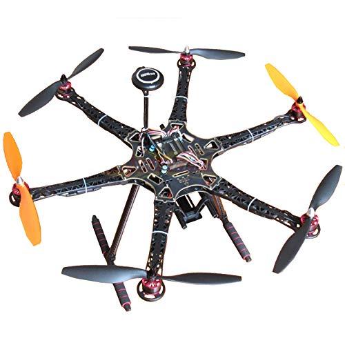 Hobbypower DIY S550 Hexacopter Frame with APM28 Flight Controller 7M GPS  HP2212 920KV Brushless Motor Simonk 30A ESC