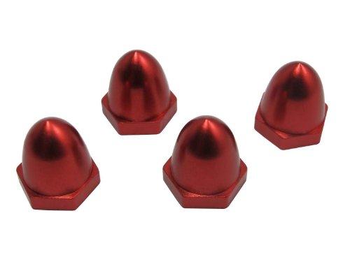 powerday Alloy Red Propeller Prop CW Nut Cap for DJI Phantom V1 V2 Brushless Motor 2212 920KVEmax MT2213-935KV4pcs