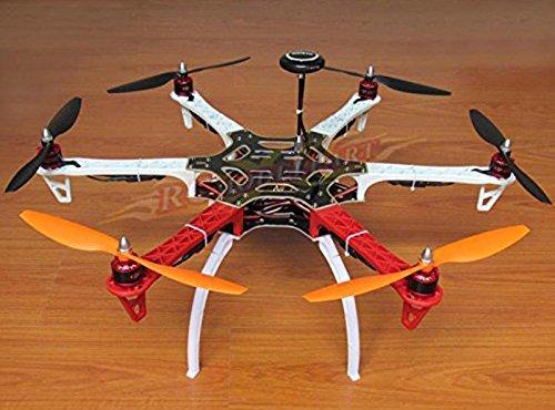 powerday DIY F550 Hexacopter Frame Kit APM28 Flight Controller 7M GPS 2212 920KV Brushless Motor Simonk 30A ESC 1045 Propeller