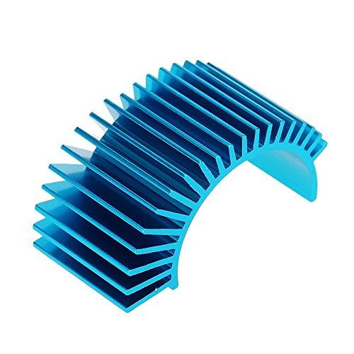 7012 Motor Heat Sink for 110 HSP RC Car 540550 3650 Motor Blue