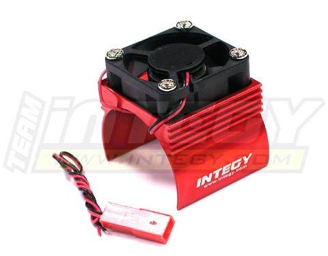 Integy RC Hobby C23140RED Super Brushless Motor HeatsinkCooling Fan 540 Size BL