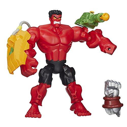 Marvel Super Hero Mashers Red Hulk Figure