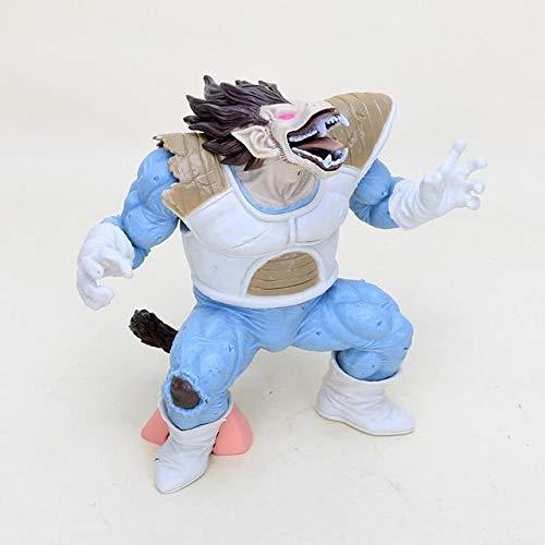 Cholyme LLC Vegeta Dragon Ball Z Figure Super Saiyan Vegeta Action Figure Toy brinquedos Model Toy - Light Blue - Code A496