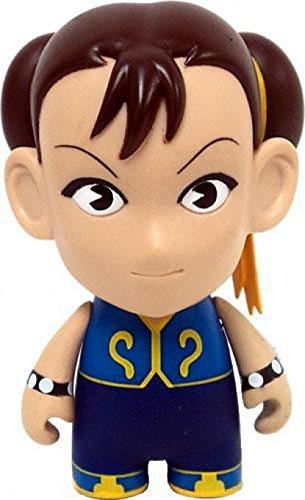 Kidrobot Street Fighter Chun Li Collectible Mini Figure Blue