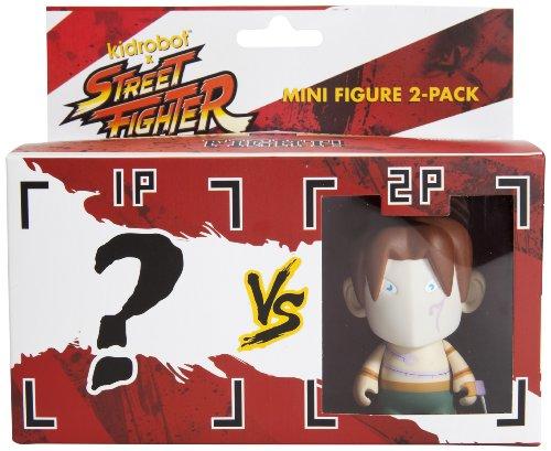 Kidrobot Street Fighter Vega Mini Figure 2-Pack