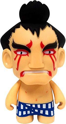 Street Fighter E Honda Collectible Mini Figure By Kidrobot - Blue