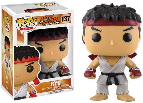 Funko Street Fighter Ryu Pop Games Figure
