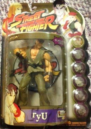 Street Fighter Round 1 Player 2 Ryu Green Gi