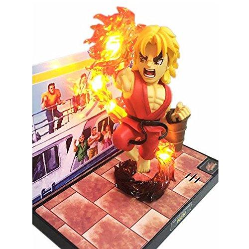 BigBoysToys Street Fighter KEN Figure3DSound EffectLED LightOfficially Licensed by Capcom