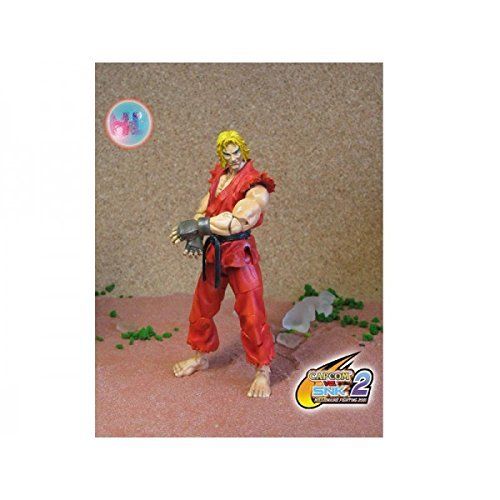 STREET FIGHTER KEN 6 articulated figure Toy by Play Ground Maniacs