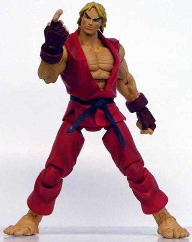 Street Fighter Ken Action Figure Red Costume