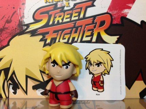 Street Fighter Ken Collectible Mini Figure By Kidrobot - Red by Kidsrobot