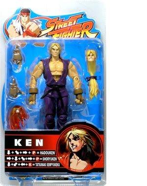 Street Fighter Ken Purple Costume Action Figure