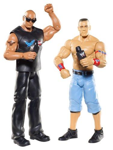WWE Battle Pack John Cena vs The Rock Figure 2-Pack Series 15