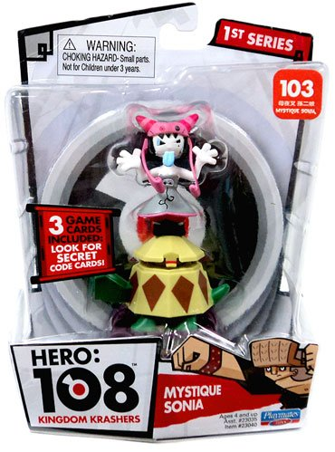 Hero 108 Kingdom Krashers Series 1 Action Figure 103 Mystique Sonia