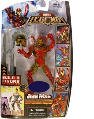 Marvel Legends Exclusive Ares Build-A-Figure Wave Action Figure Heroes Reborn Iron Man Jim Lee