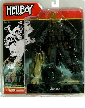 Mezco Toyz Hellboy Comic Book Series 2 Action Figure Johann