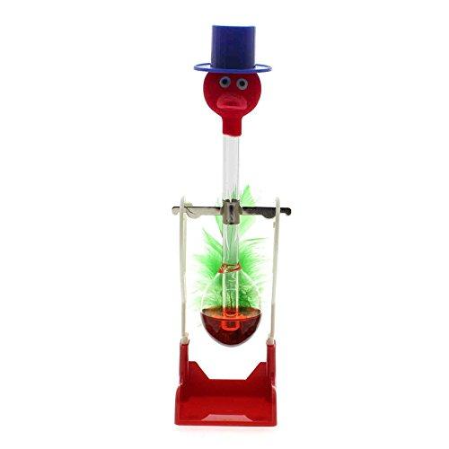 WEKA Red Thirsty Drinking Lucky Bird Liquid Glass Retro Toy Office Desks