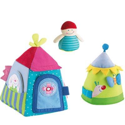 Haba Stockpile House Stacking Toy