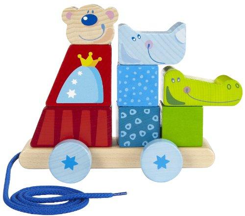 Haba Zoolino Wooden Animal Stacking Toys