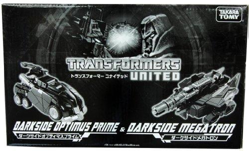 Transformers United WFC Darkside Optimus Prime Darkside Megatron Set - Tokyo Toy Show 2011 Exclusi