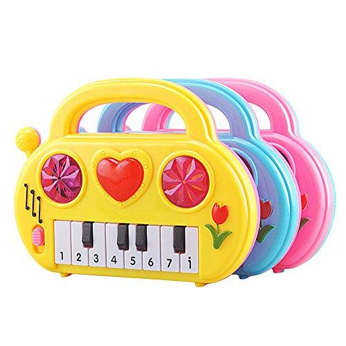 Awakingdemi Kids Musical Developmental Cute Baby Piano Children Sound Educational Toy Musical Toy Color Random
