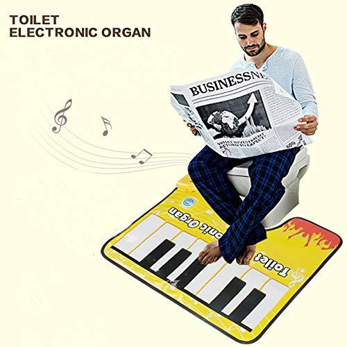 Toilet Keyboard Childrens Fun Casual Fun to Relieve stuffy Toys Piano Music Blanket Toilet to Solve stuffy Toys