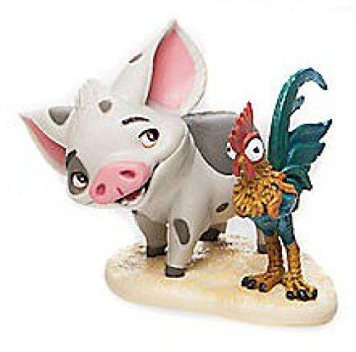 Disney Moana Pua Heihei Loose PVC Figure Figurine Cake Topper Toy