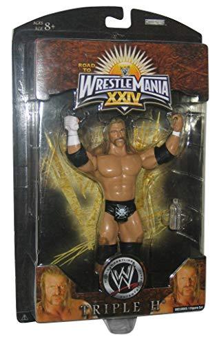 Jakks Pacific WWE Road to Wrestlemania XXIV Triple H Action Figure
