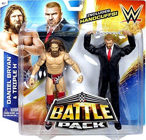 WWE Battle Pack Series 32 - Daniel Bryan vs Triple H Action Figure 2-Pack