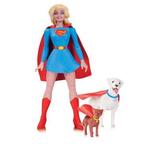 DC Comics Designer Series Supergirl by Darwyn Cooke Action Figure