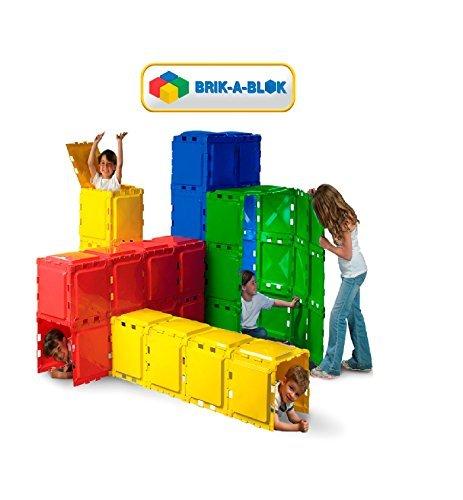 Brik- A- BlokTM 60 Panel Construction Play Set  5- 14 Years  by Brik-A-BlokTM