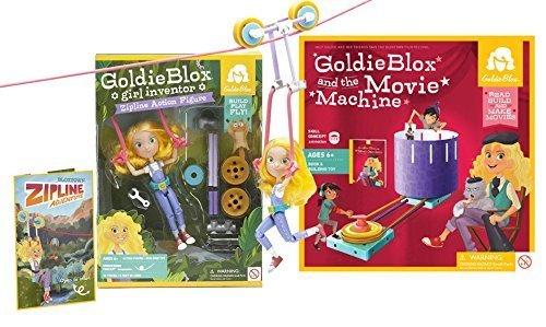 GoldieBlox Zip line and Movie Machine by GoldieBlox